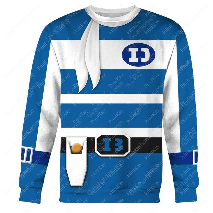 Denzi Blue Super Sentai Long Sleeves / S Sentai42201