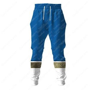 Denzi Blue Super Sentai Sweatpants / S Sentai42201