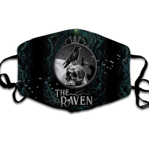 The Raven Face Mask