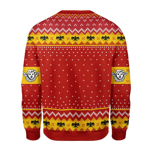 Pope Pius XI Coat Of Arms Ugly Sweater