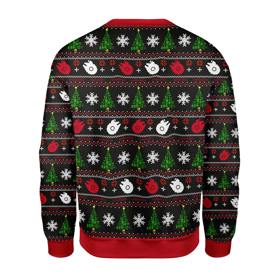 Star Wars Christmas Tree Sweater