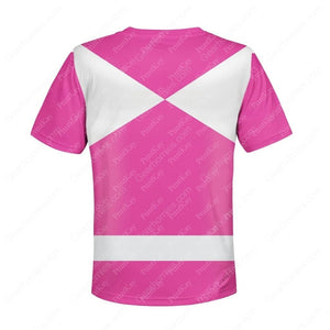 Kid Pink Power Rangers Kidqm43
