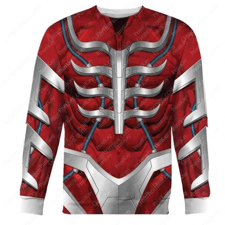 Lord Zedd Villain Long Sleeves / S Qm81T