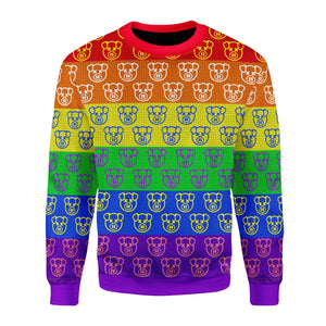 Jeffree Star Pig LGBT Ugly Sweater