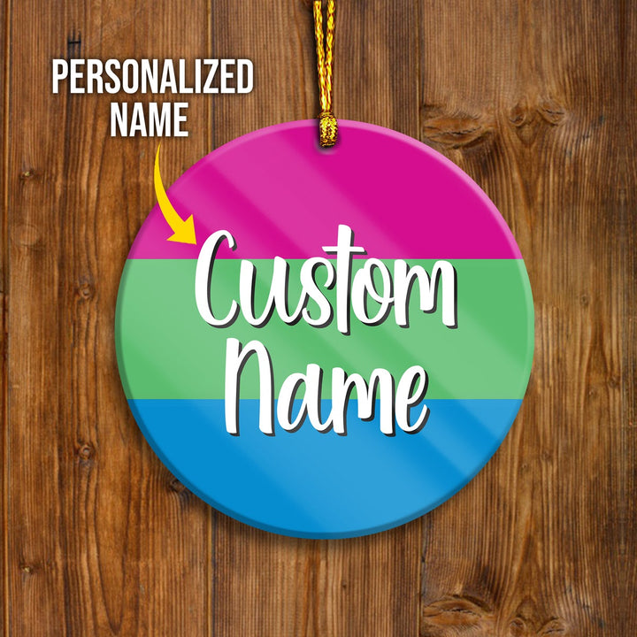 Polysexual Customized Ornament