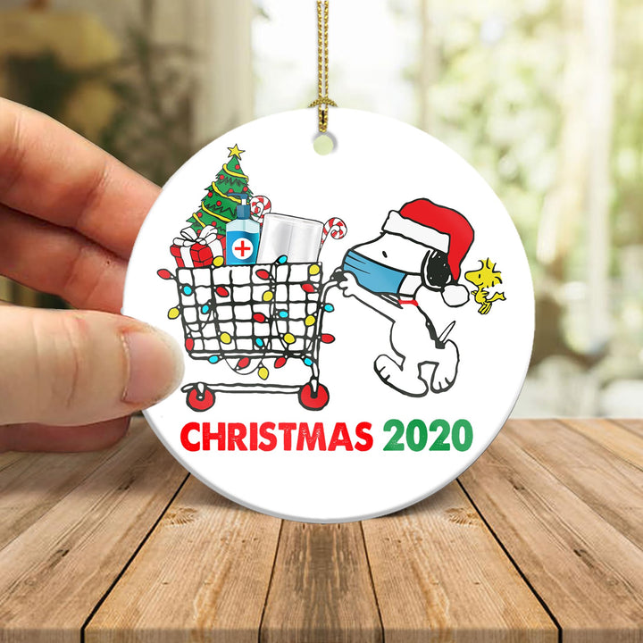 Shopping For Christmas 2020 Ornament