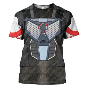 Optimus Primal Beast Wars T-Shirt / S Qm03L