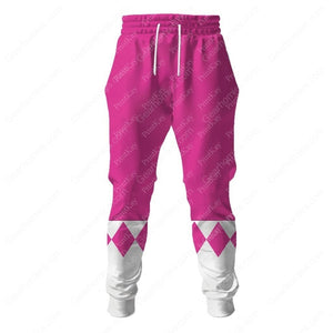 Pink Mighty Morphin Sweatpants / S Qm43