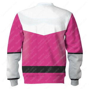Pink Power Rangers Time Force Qm177