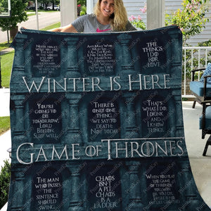 Quilt Game Of Thrones Throw