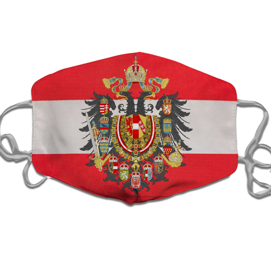 Coat of arms of Austria-Hungary (until 1915) Face Mask