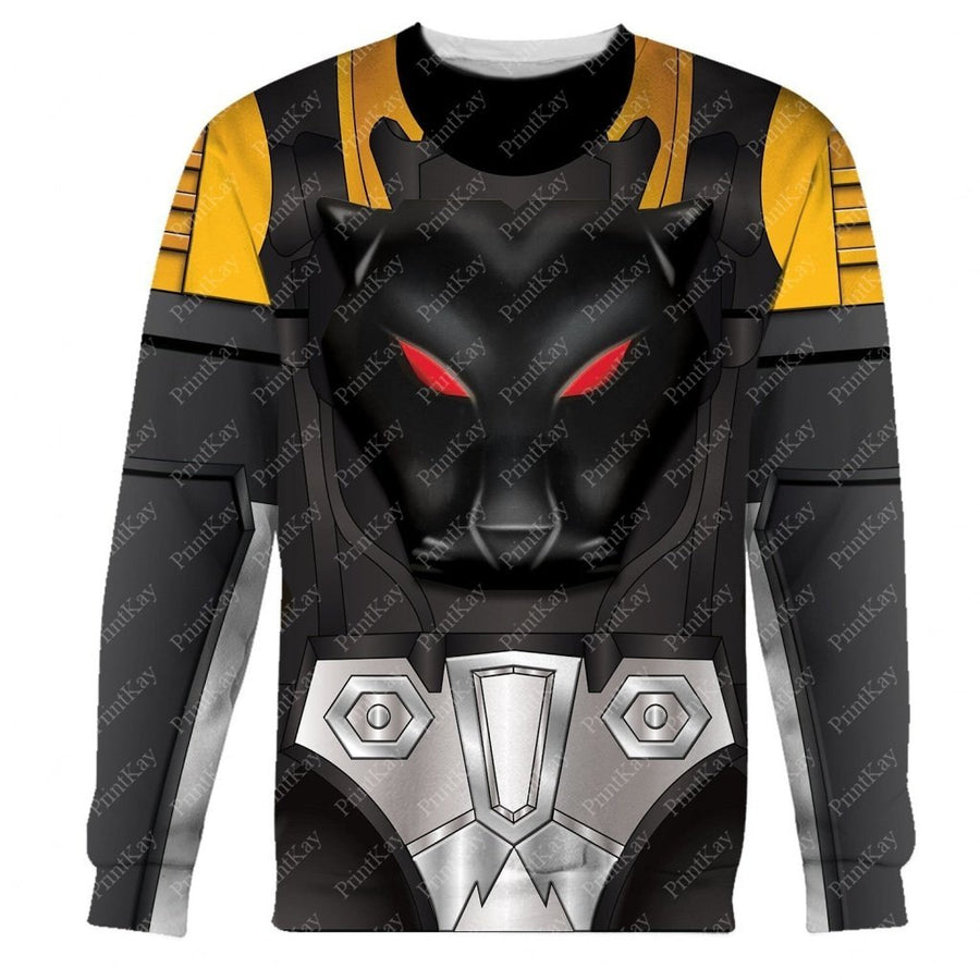 Shadow Panther Beast Wars Long Sleeves / S Qm31