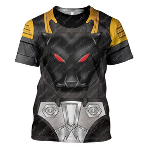 Shadow Panther Beast Wars T-Shirt / S Qm31