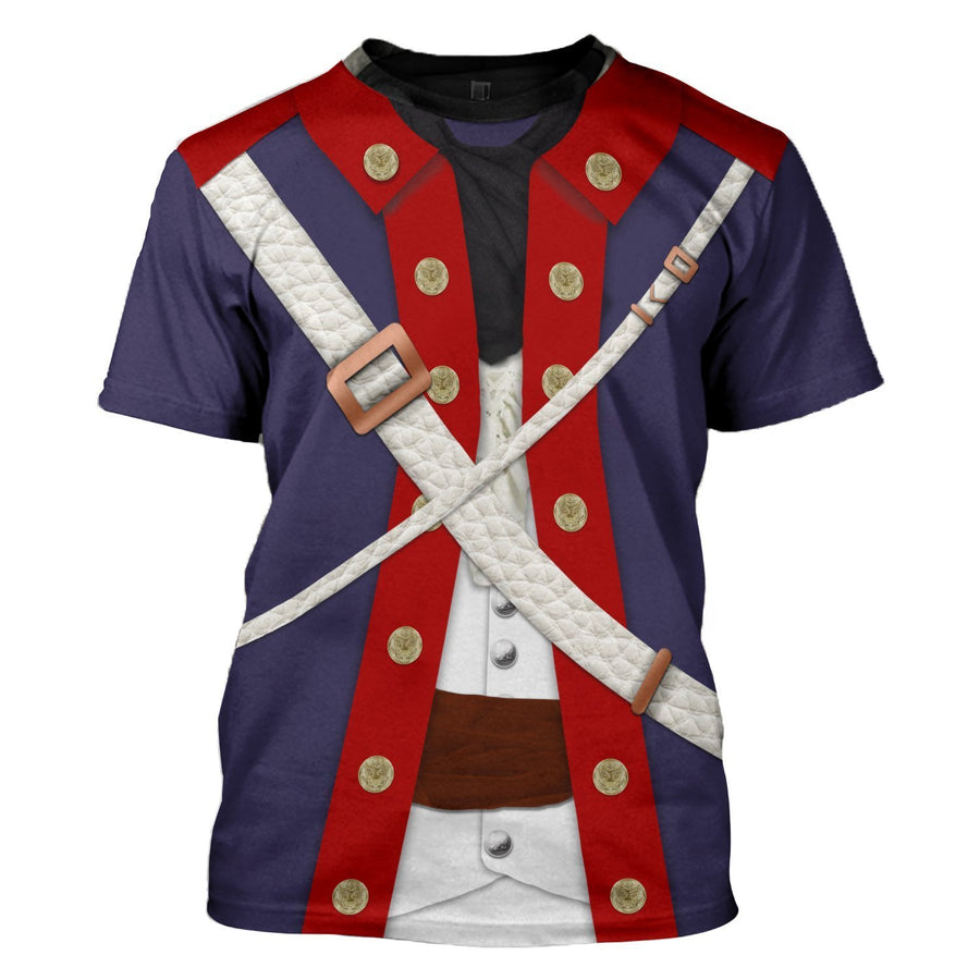 Gearhomies 1778 Continental Army T-Shirt / S Army001