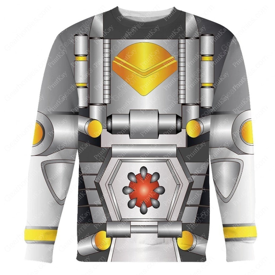 Silverbolt Beast Wars Transformers Long Sleeves / S Qm22
