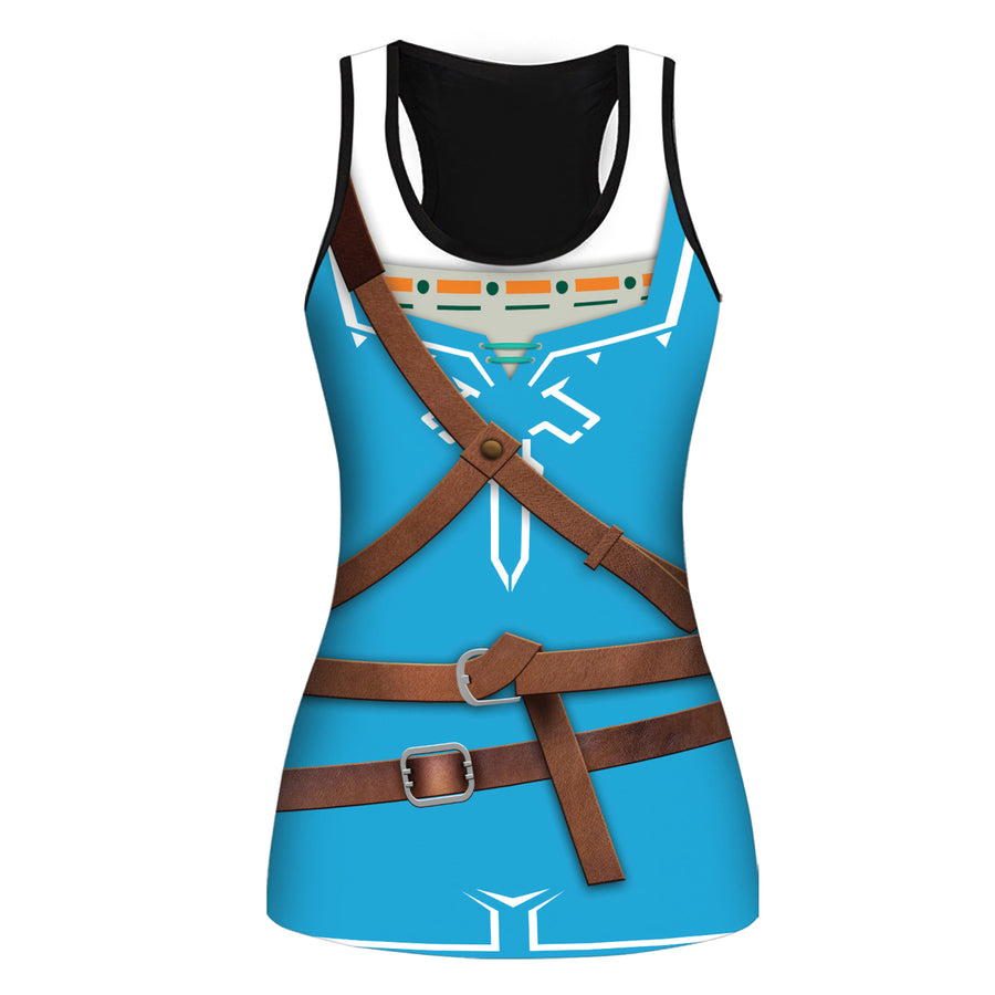 Breath Of The Wild Tank And Leggings All Over Print