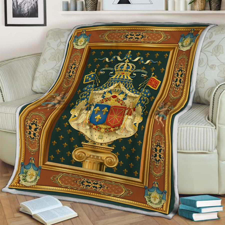 French King Louis XV Blanket