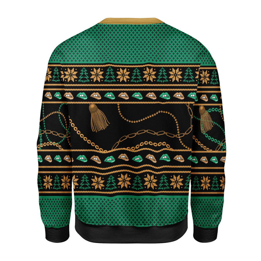 There is a Christmas Hos In ThIs House Ugly Christmas Sweater