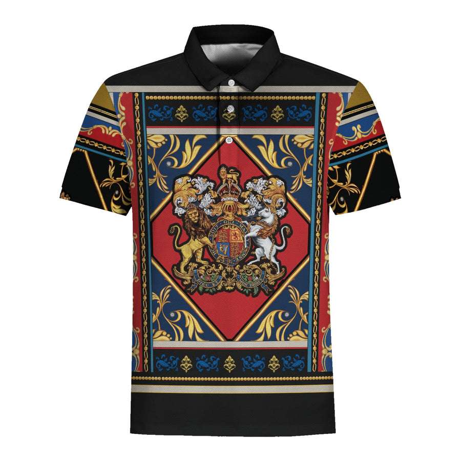 Coat of arms yellow lion Polo and Hawaiiann Shirt