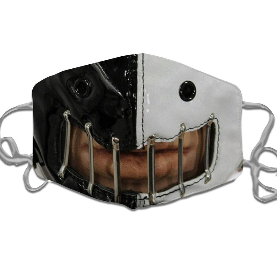 Silence Of The Lambs Black And White Muzzle Face Mask