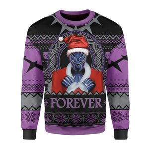Santa Black Panther Wankada Ugly Sweater