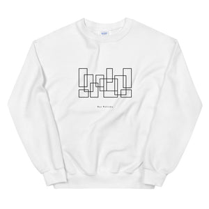 back bar sweatshirt (white)