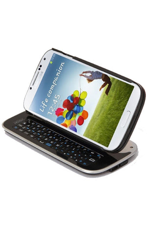 Moguls Mobile by Daymond John from Shark Tank Samsung Galaxy S4 Bluetooth Qwerty Keyboard