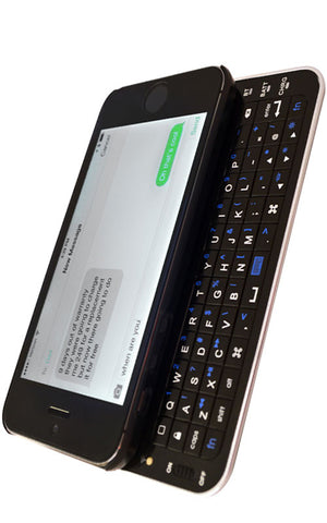 Moguls Mobile by Daymond John Magneti Magnetic Bluetooth Keyboard for iPhone 5 / 5s