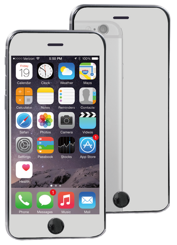 Mogul Mirror + Scratch Proof Screen Protector for iPhone