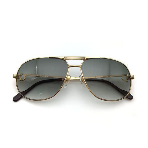 Big Size Golden Sunglasses Men Carter Sunglasses Man Metel Carter Glasses Frame pilot sun glass brand designer avatioe   1038336
