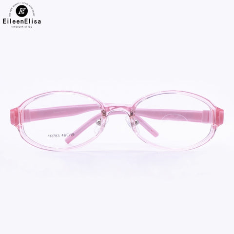 EE Flexible Kids Eyeglasses Frame TR90 Children Glasses No Screw Unbreakable Safe Boys Girls Optical Eyewear Spectacle