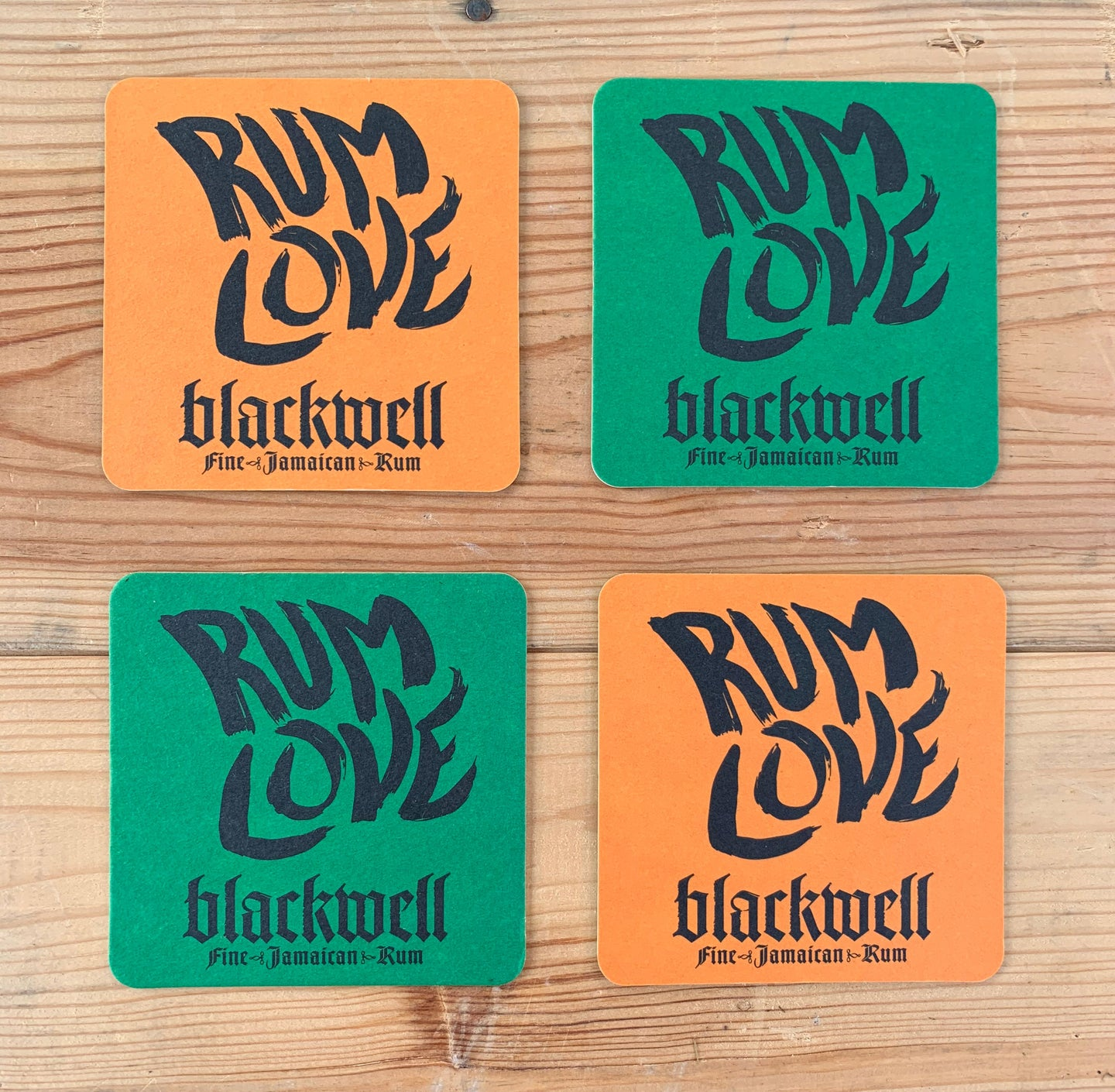 Blackwell Rum Coasters | Pack of Four