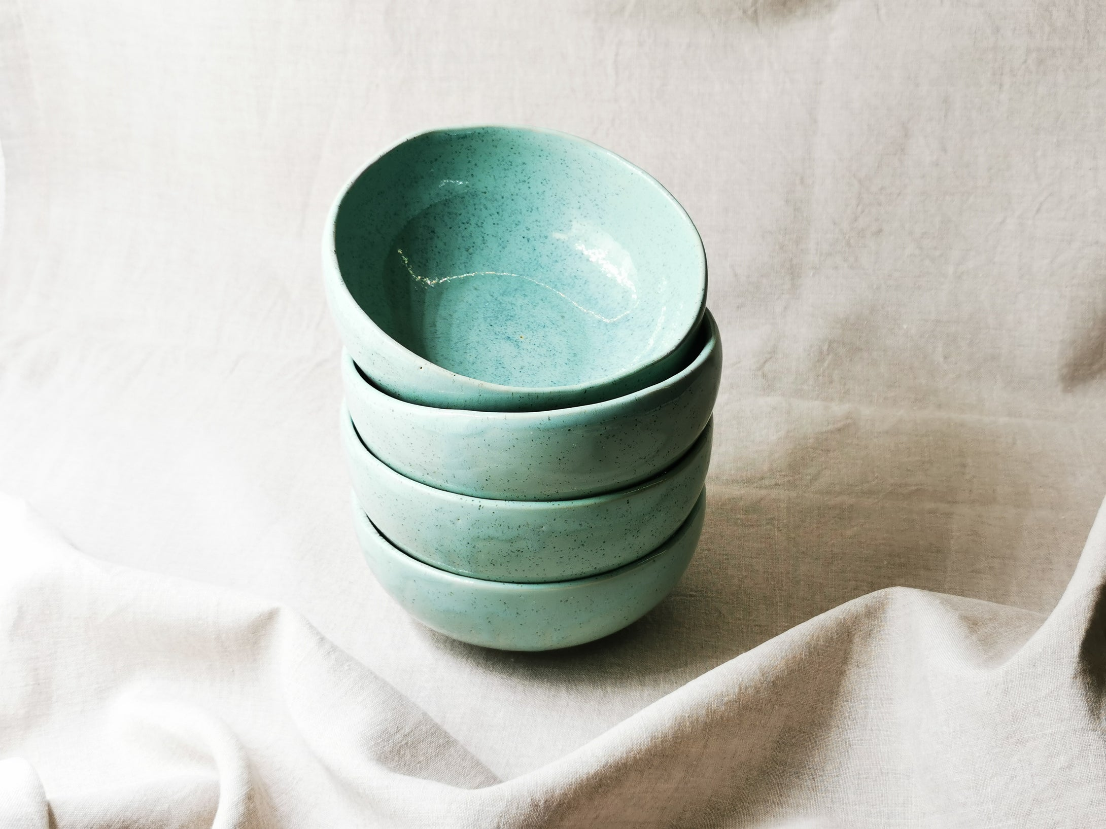 Small Bowl in Turmalin Turquoise - O I A  ceramics