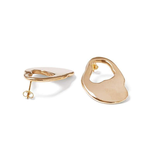 MyJulz - Organic Brass Earrings