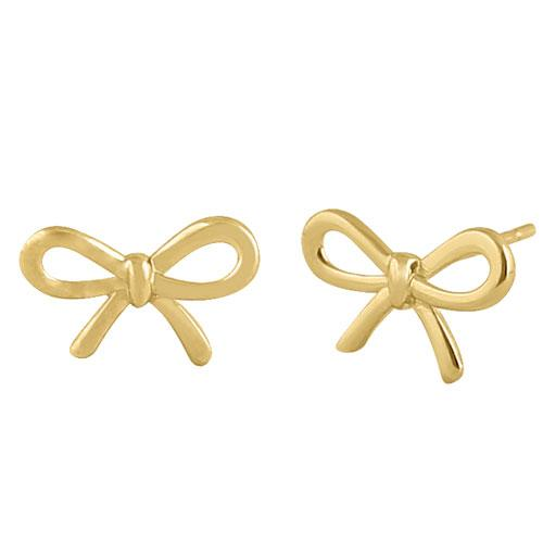 MyJulz - Tie a Bow Around it Earrings