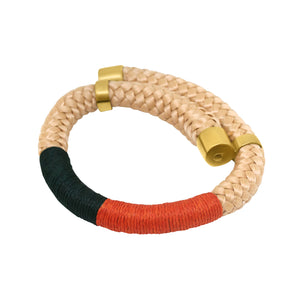 Beige Hole Bangle