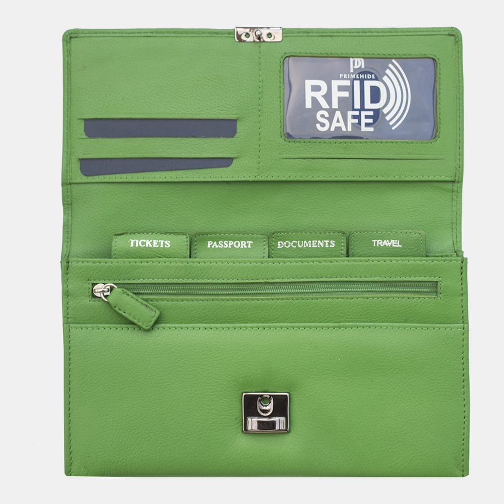 RFID Safe Travel Purse Wallet - 449