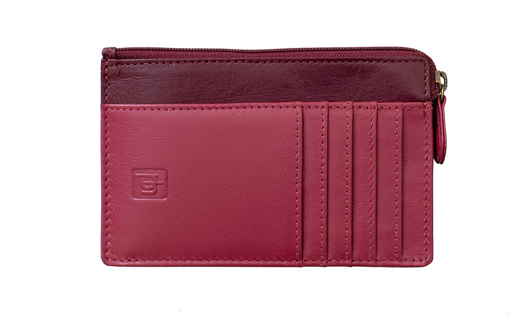 Clara Small Leather Coin Purse - 6102