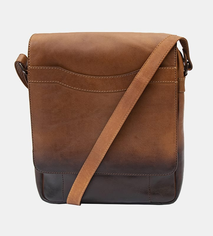 Cherokee Leather Small Messenger Bag - 6362