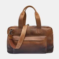 Cherokee Leather Holdall Travel Bag