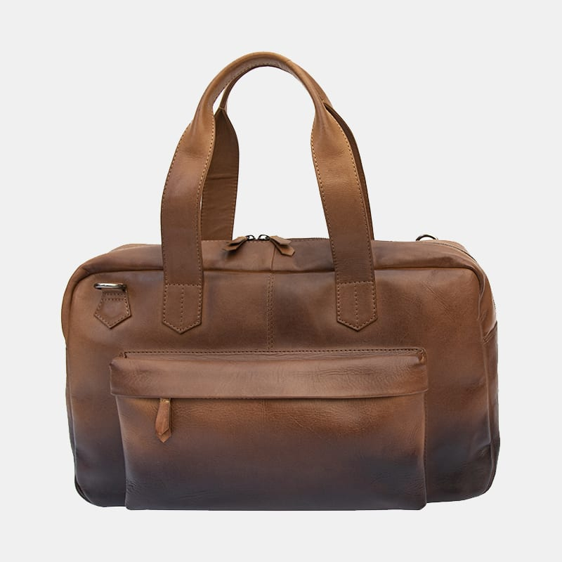 Cherokee Leather Holdall Travel Bag - 6364