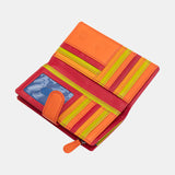 Astra RFID Large Multi Colour Purse 7082