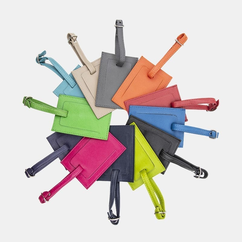 Coloured Luggage Suitcase Tag - 717