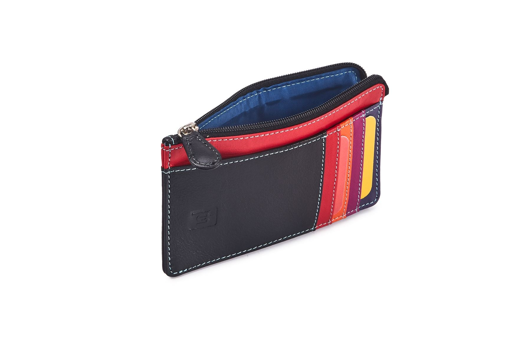 Card Wallet With Change Pouch 757