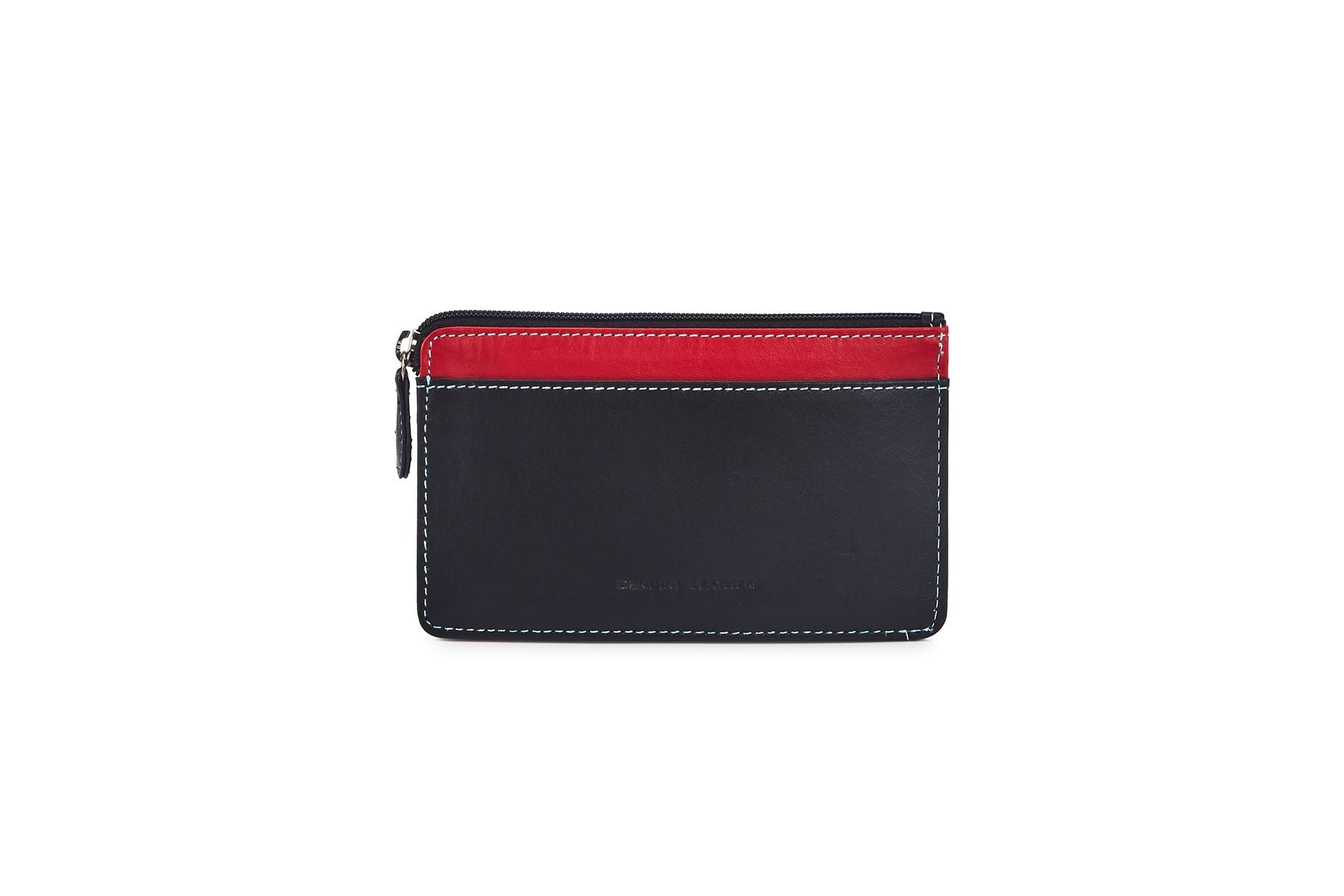 Card Wallet With Change Pouch - 757