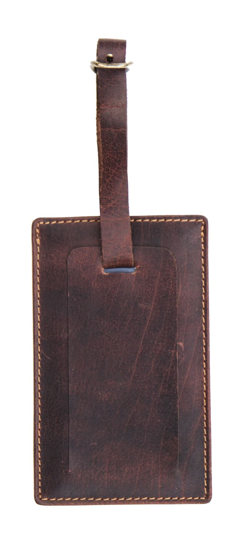Leather Luggage Tag - 4827