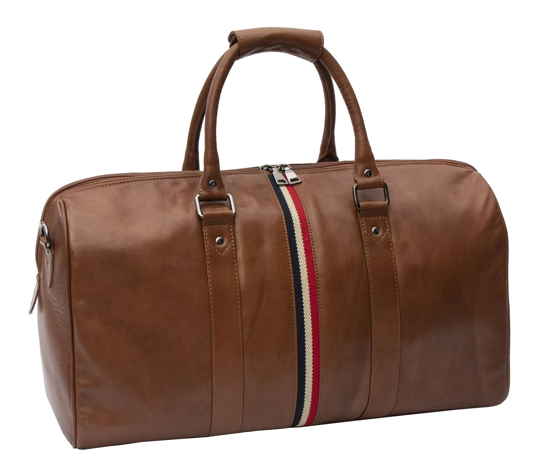 Texan Leather Holdall Duffle Bag - 8410