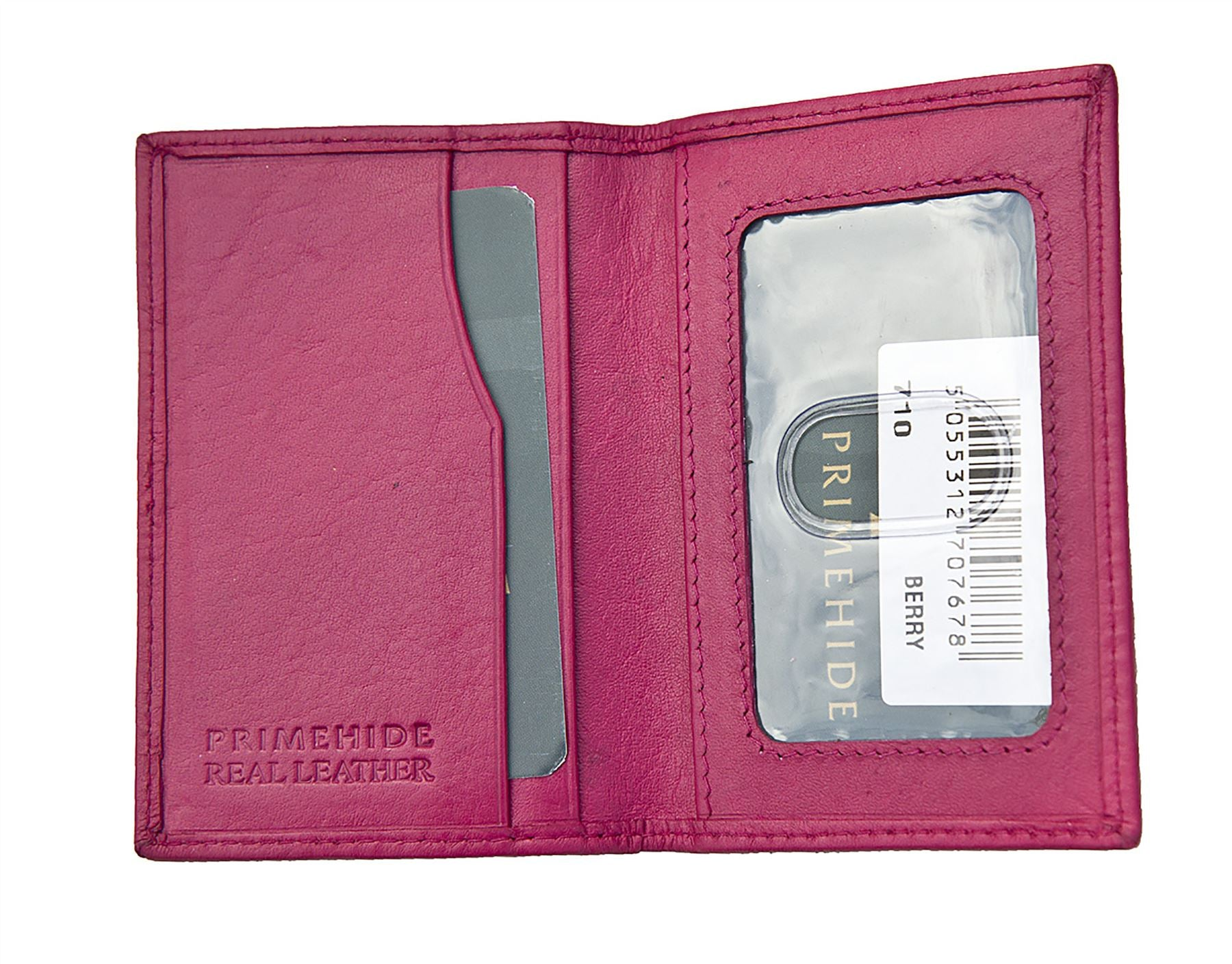 Leather Travelcard / Oyster Card Holder 710