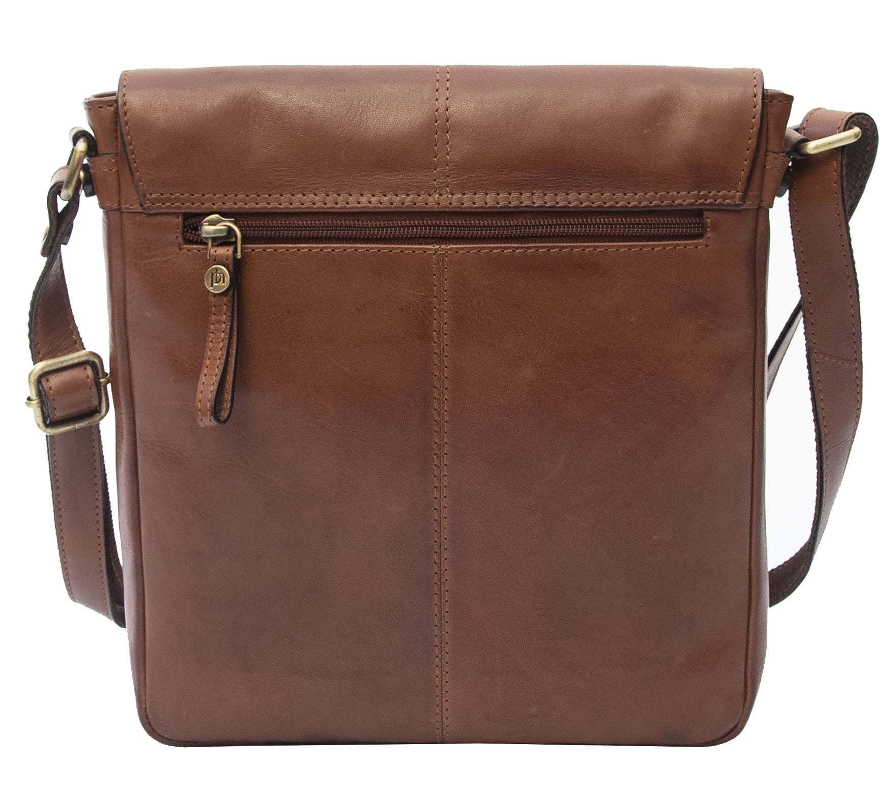 Ridgeback Leather Crossbody Handbag - 677