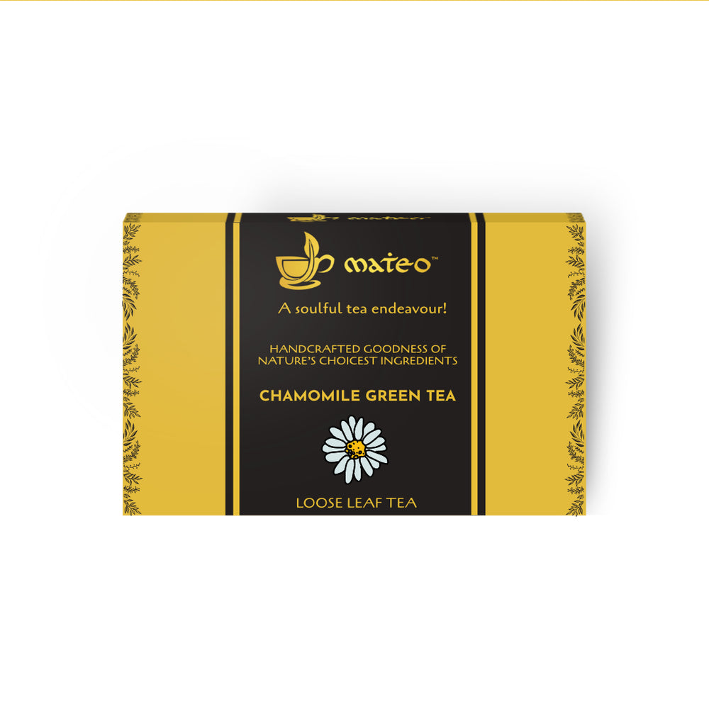 Load image into Gallery viewer, Chamomile Green Tea - Mateo tea